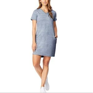 32 DEGREES COOL Short Sleeve V Neck Dress